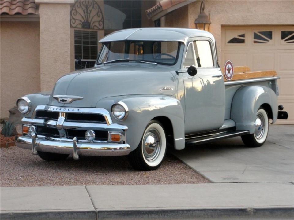 zeldzame Chevrolet pickup